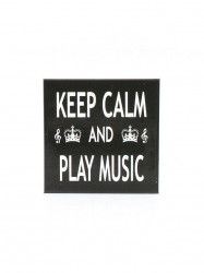Little Snoring Gifts: Magnet na ledničku - Keep Calm & Play Music