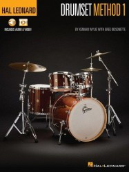 Hal Leonard Drumset Method – Book 1 (noty na bicí) (+online audio & video)