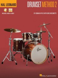Hal Leonard Drumset Method Book 2 (noty na bicí) (+online audio)