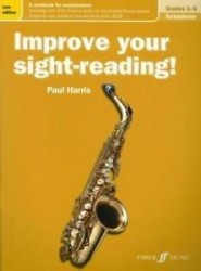 Improve Your Sight-Reading! Saxophone Grades 1-5 (noty na saxofon)