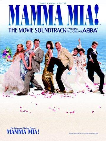 Mamma Mia!: The Movie Soundtrack Featuring The Songs Of Abba (noty, akordy, texty, klavír, kytara, zpěv)