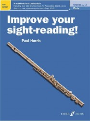Improve Your Sight-Reading! Flute Grades 1-3 (New Edition) (noty na příčnou flétnu)