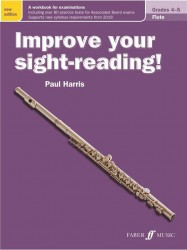 Improve Your Sight-Reading! Flute Grades 4-5 (New Edition) (noty na příčnou flétnu)