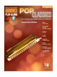 Harmonica Play-Along 8: Pop Classics (noty na harmoniku)(+online audio)