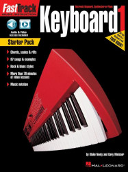 FastTrack Keyboard Method: Starter Pack (noty na keyboard)(+online audio/video)