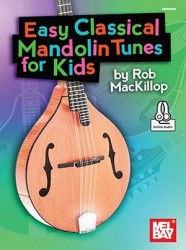 Easy Classical Mandolin Tunes For Kids (noty, tabulatury na mandolínu)(+online audio)