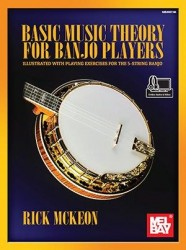Basic Music Theory for Banjo Players (noty, tabulatury na banjo)(+online audio/video)
