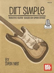 Dirt Simple Electric Guitar Solos On Open Strings (noty na kytaru) (+online audio)