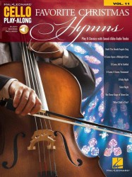 Cello Play-Along Volume 11: Favorite Christmas Hymns (noty na violoncello) (+online audio)