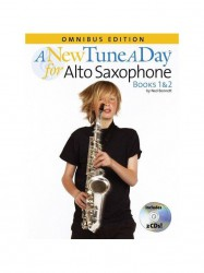 A New Tune A Day: Alto Saxophone - Books 1 & 2 (noty na altsaxofon) (+CD)