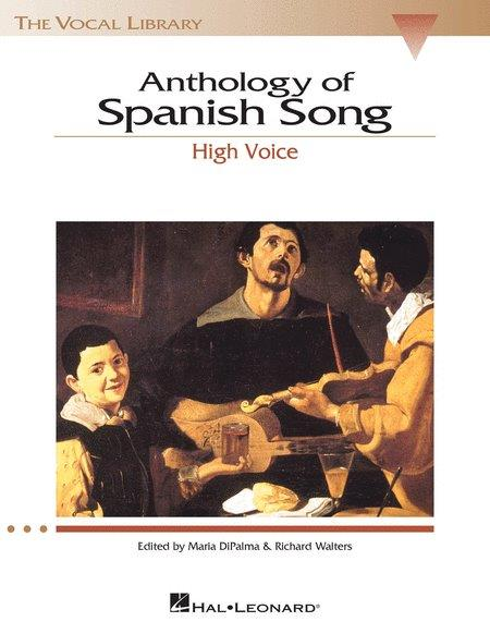 Anthology Of Spanish Song (noty na zpěv, vysoký hlas)