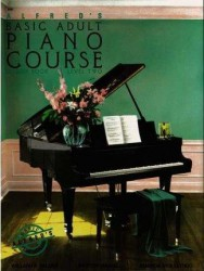 Alfred's Basic Adult Piano Course: Lesson Book Level 2 (noty na sólo klavír)