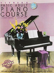 Alfred's Basic Adult Piano Course: Lesson Book Level 1 (noty na sólo klavír) (+CD)