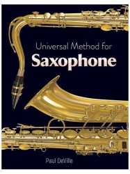 Paul DeVille: Universal Method For Saxophone (noty na saxofon)