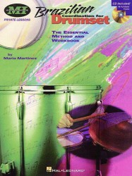 Brazilian Coordination For Drumset (noty na bicí) (+CD)