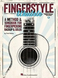 Fred Sokolow: Fingerstyle Ukulele (noty, tabulatury) (+CD)