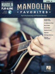 Mandolin Play-Along 8: Mandolin Favorites (noty, tabulatury na mandolínu) (+online audio)