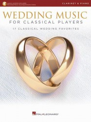 Wedding Music for Classical Players (noty na klarinet, klavír) (+online audio)