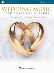 Wedding Music for Classical Players (noty na violoncello, klavír) (+online audio)