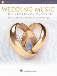 Wedding Music for Classical Players (noty na housle, klavír) (+online audio)