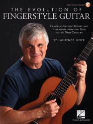 The Evolution of Fingerstyle Guitar (noty, tabulatury na kytaru) (+audio)