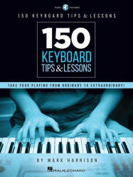 150 Keyboard Tips & Lessons (noty na keyboard) (+audio)