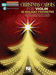 Christmas Carols - Violin: 10 Holiday Favorites (noty na snadné housle) (+audio)