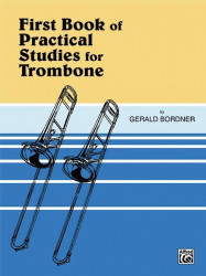 First Book Of Practical Studies For Trombone, Book 1 (noty na pozoun)