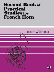 Second Book Of Practical Studies for French Horn, Book 2 (noty na lesní roh)