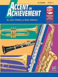 Accent On Achievement, Book 1 (noty na klarinet) (+CD)