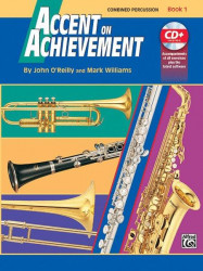 Accent On Achievement, Book 1 (noty na perkuse) (+CD)