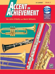 Accent On Achievement, Book 2 (noty na klarinet) (+CD)