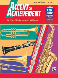 Accent On Achievement, Book 2 (noty na altsaxofon) (+CD)