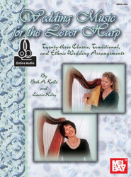 Wedding Music For The Lever Harp (noty na harfu) (+audio)