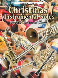 Christmas Instrumental Solos (noty na klarinet) (+CD)