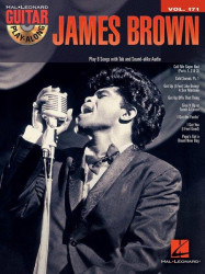 Guitar Play-Along 171: James Brown (noty, tabulatury na kytaru) (+CD)