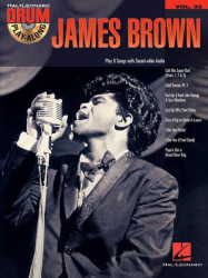 Drum Play-Along 33: James Brown (noty na bicí) (+CD)