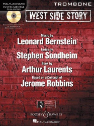 Leonard Bernstein: West Side Story (noty na pozoun) (+CD)