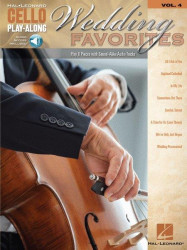 Cello Play-Along 4: Wedding Favorites (noty na violoncello) (+audio)