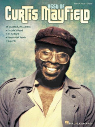 Best of Curtis Mayfield (noty na klavír, zpěv, akordy)