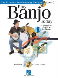 Play Banjo Today! Level 2 (tabulatury na banjo) (+CD)
