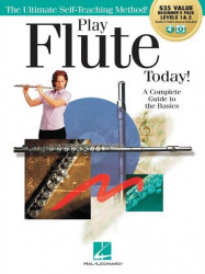 Play Flute Today! Beginner's Pack (noty na příčnou flétnu) (+audio+video)