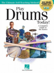 Play Drums Today! Beginner's Pack (noty na bicí) (+audio+video)