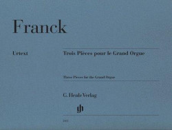 César Franck: 3 Pieces for the Grand Organ (noty na varhany)