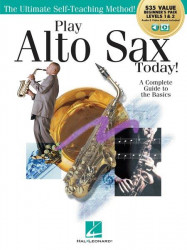 Play Alto Sax Today! (noty na altsaxofon) (+audio/video)