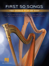 First 50 Songs You Should Play on Harp (noty na harfu)