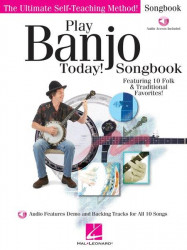 Play Banjo Today! Songbook (noty, tabulatury na banjo) (+audio)