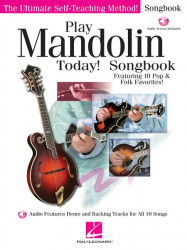 Play Mandolin Today! Songbook (noty, tabulatury na mandolínu) (+online audio)