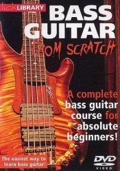 Lick Library: Bass Guitar From Scratch (DVD) (video škola hry na baskytaru)