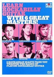 Hot Licks: Learn Rockabilly Guitar With The Greats (DVD) (videoškola hry na kytaru)